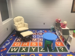 family friendly study space